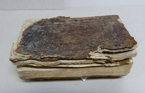 libro antiguo para encuadernacion artesanal