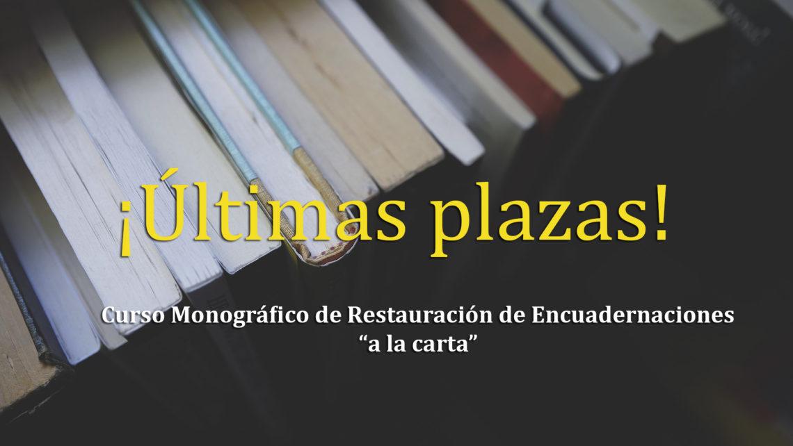 Monográfico Restauración Encuadernación Manual