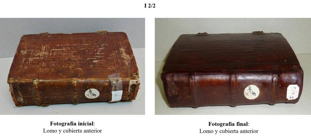 restauracion libros encuadernacion artesanal